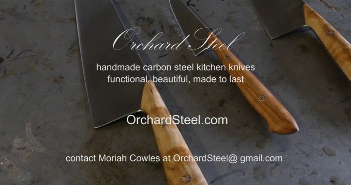 Orchard Steel Handcrafted Knives