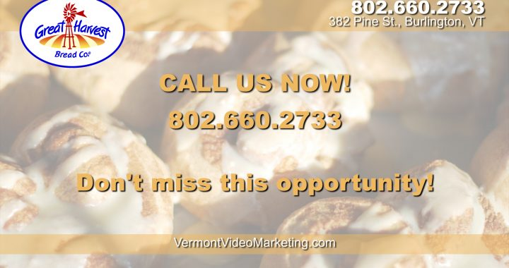 Vermont Bakery For Sale